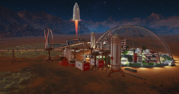 Surviving Mars Der Marsianer