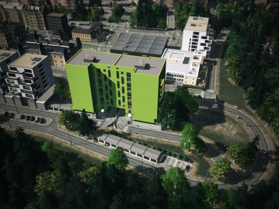 Lake Town green house
