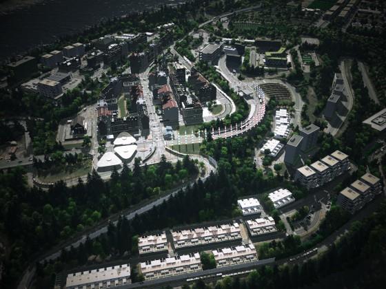 Lindblum - Lake Town