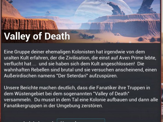 Mission - Valley of Death