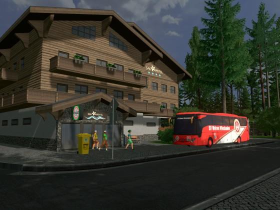 Hotel des SV Wehen Wiesbaden