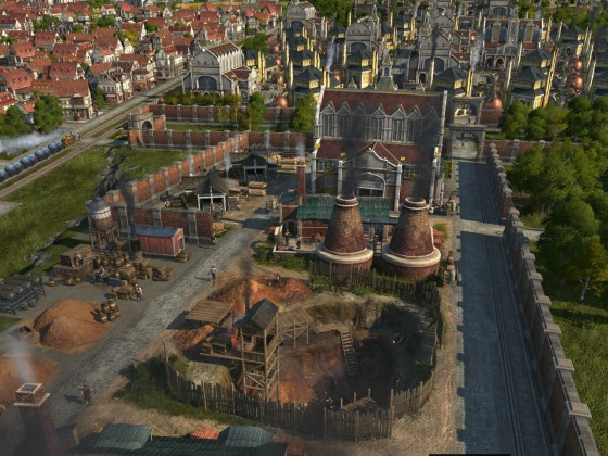 Anno 1800 - meine Schönbau Handwerkerstadt