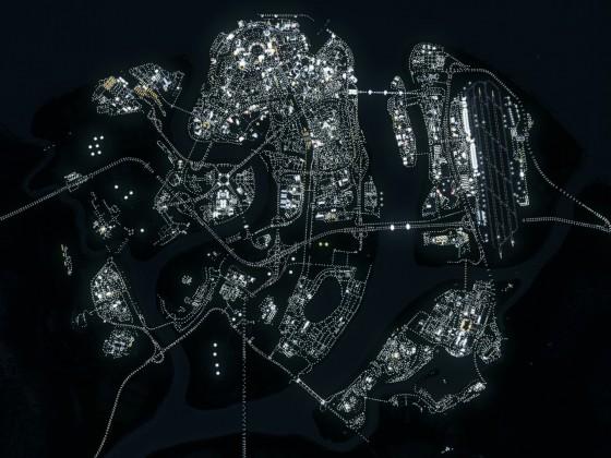 Complete Lindblum at Night