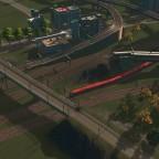 Gleisvorfeld Süd verzweigt sich