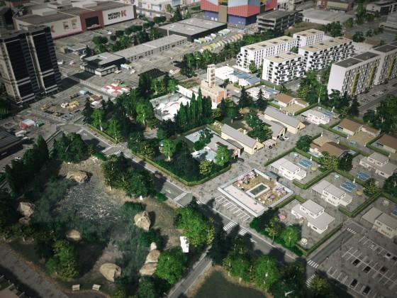 Lake Town residential