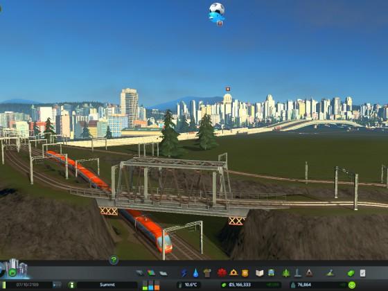 Umbau Gleisdreieck, BA1 ist fertig
