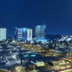 Skylines von Snowfield