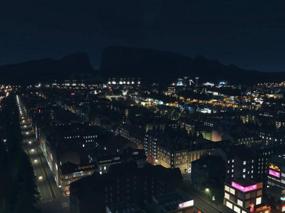 Cities Skylines After Dark