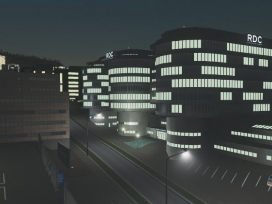Content Creator Pack: High-Tech Buildings