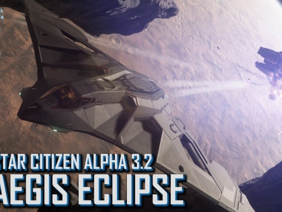 Star Citizen: Alpha 3.2 - Aegis Eclipse