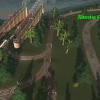 Festland alte Gleisführung