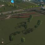 Gleisfeld alt südliche Richtung
