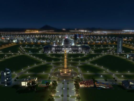 Zentrum mit Stadtpark