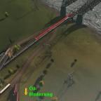 Insel alte Gleisführung