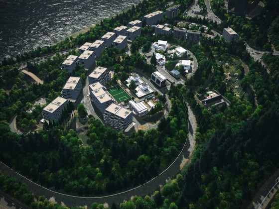 Lindblum - Exclisive Lake Town