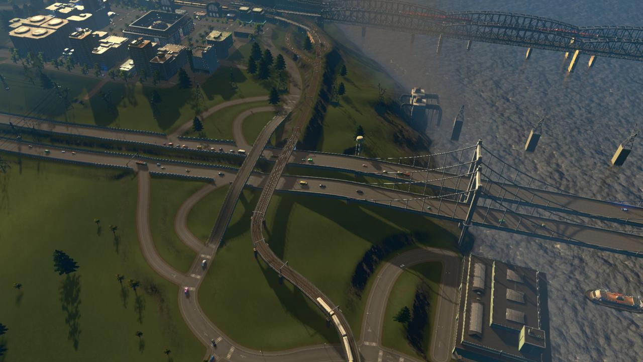 Alter Autobahnanschluss