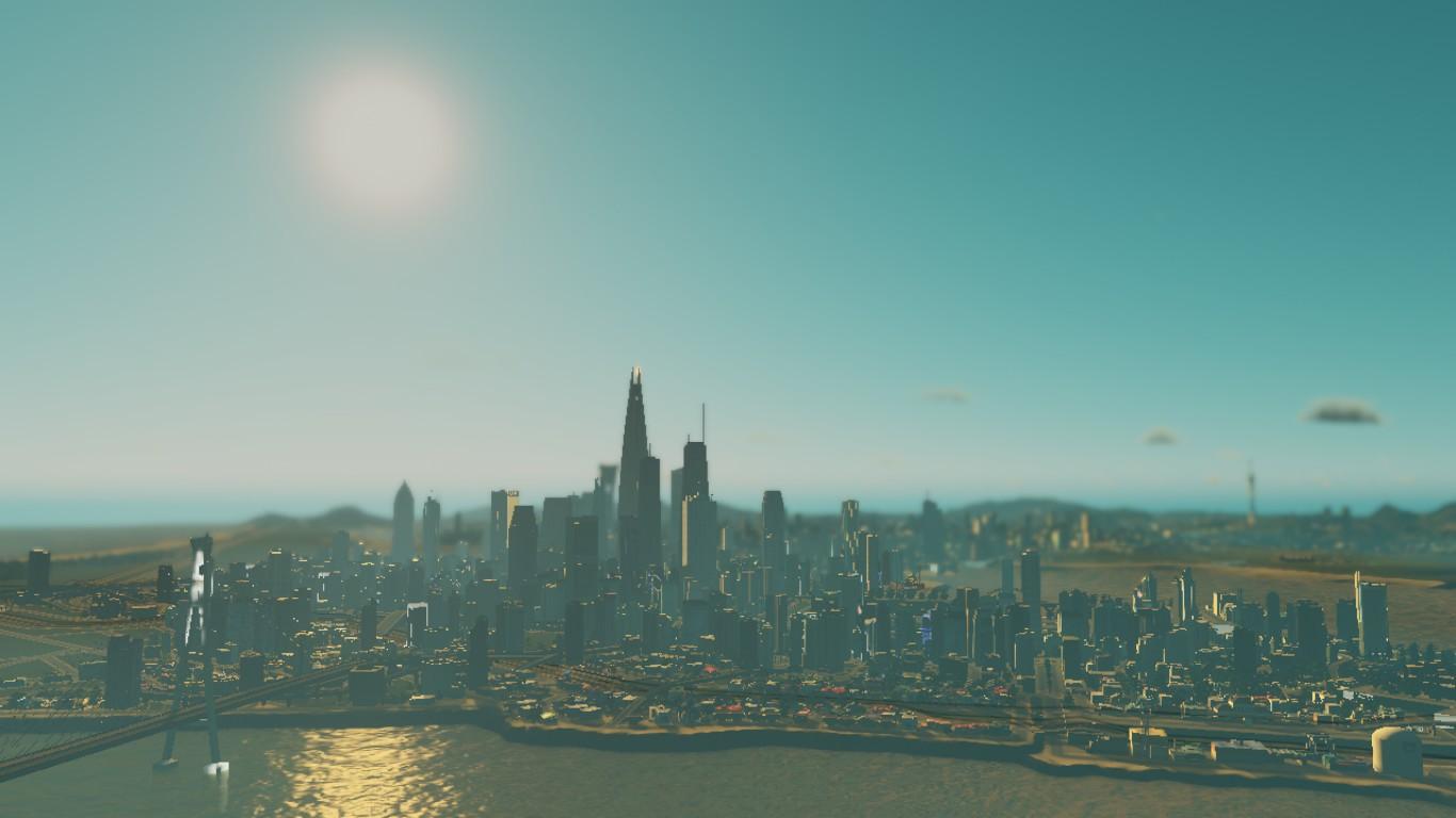 Downtown von Süden