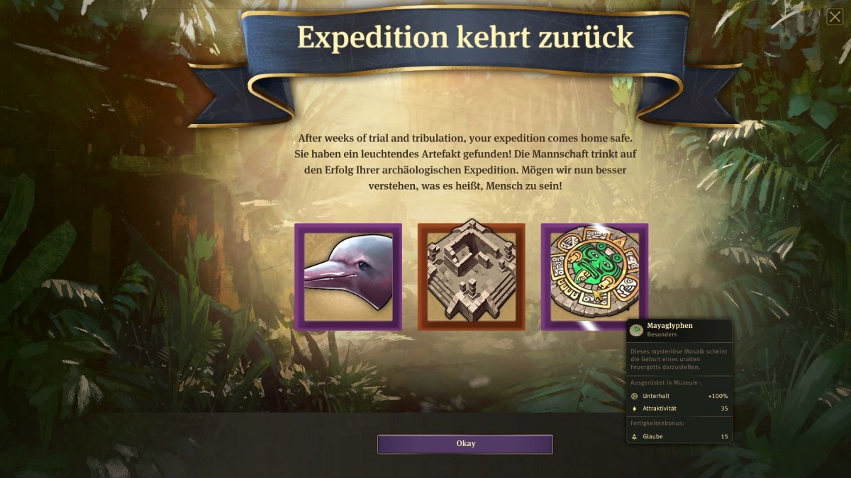 Expedition - Rückkehr - Items