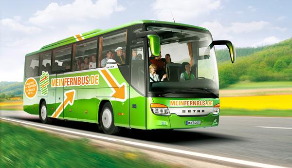 Fern Bus Suche